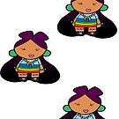 NDN fashion diva Stickerz by mylittlenative