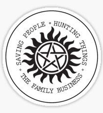 Supernatural - Possession Ward Sticker