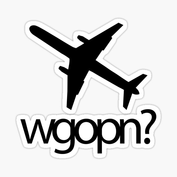 wgopn - original Sticker
