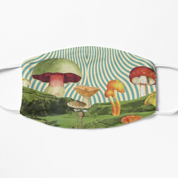 Shroomscape Flat Mask