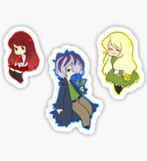 Ib, Garry and Mary Sticker