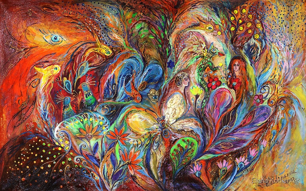 The Temptation of Eve by Elena Kotliarker