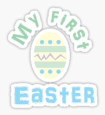 Baby's First Easter Sticker