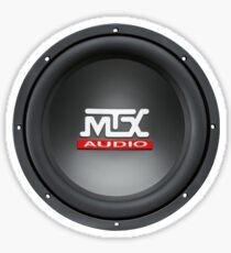 MTX Subwoofer Sticker
