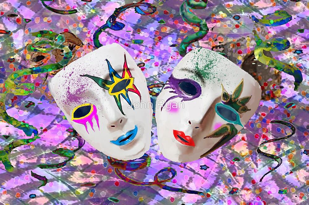 Mardi-gras Mask by John Ryan