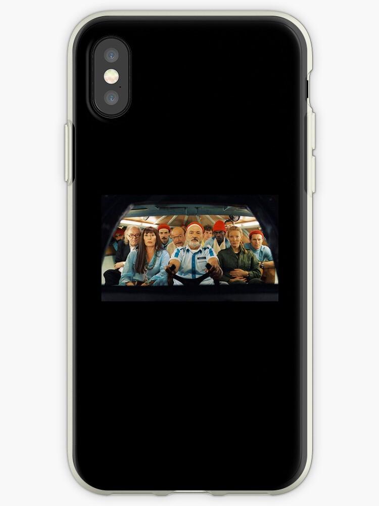 Life Aquatic plain iPhone case by BunnyJump