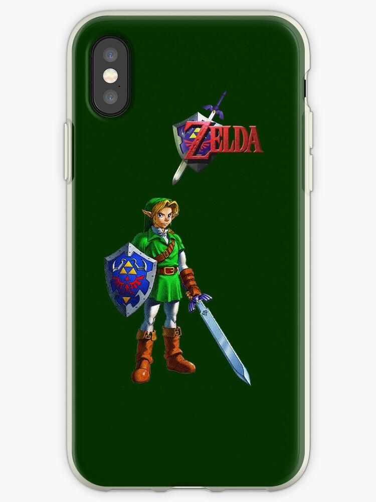 Zelda Link iPhone case by BunnyJump