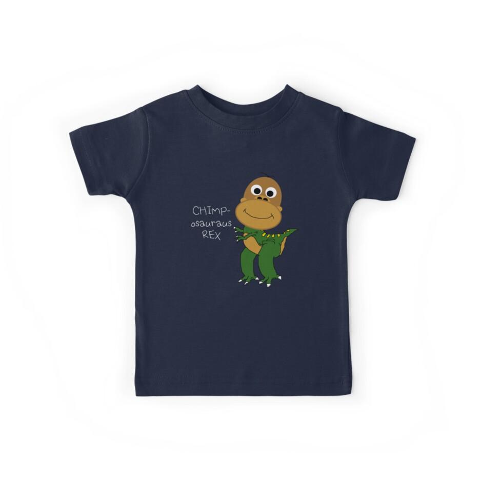 Chimposauraus-Rex T-shirt by MrPeterRossiter