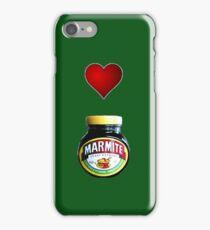 Love Marmite iPhone case iPhone Case/Skin