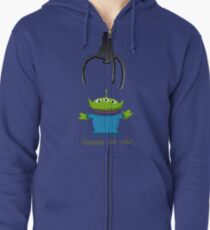 Toy Story Alien Claw Zipped Hoodie