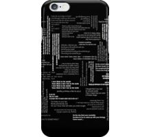 Smiths Lyrics iPhone cover iPhone Case/Skin