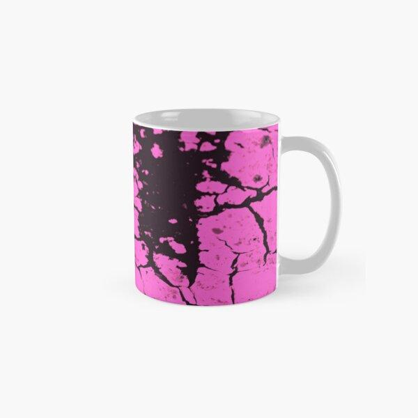 candy pink crackle glaze Classic Mug