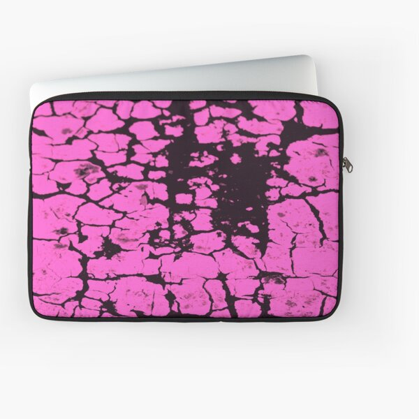 candy pink crackle glaze Laptop Sleeve
