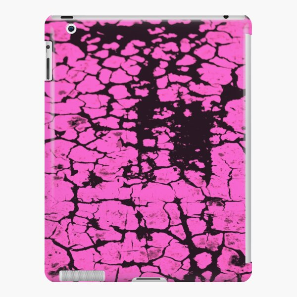 candy pink crackle glaze iPad Snap Case