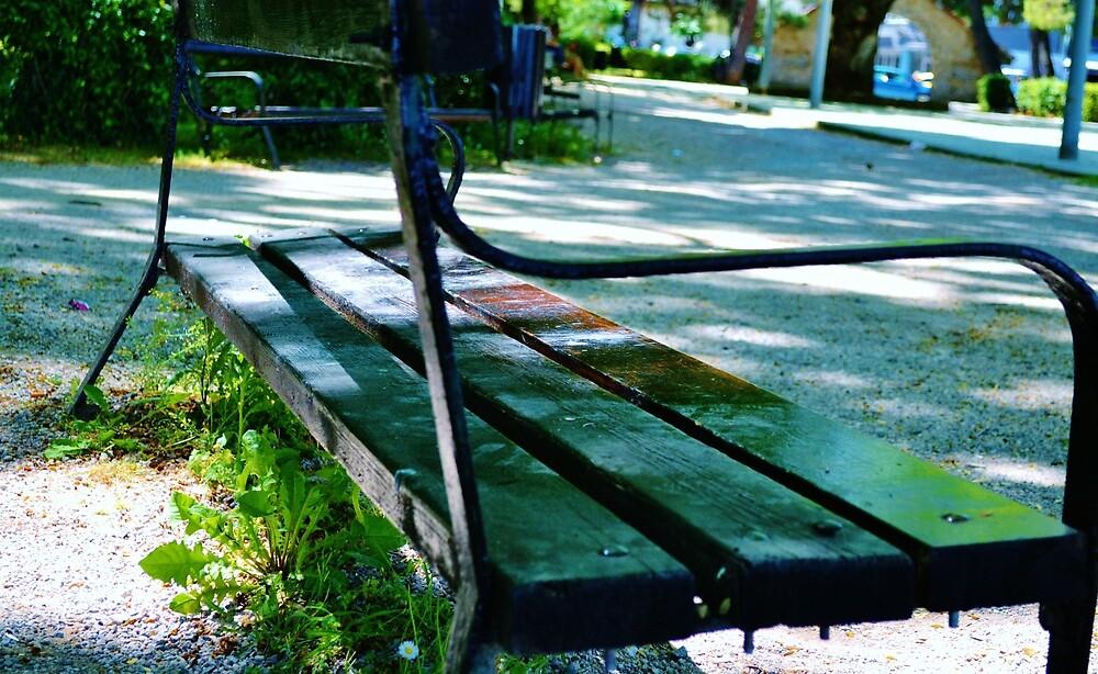 I love benches! by AxelAtticus