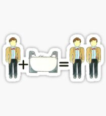 Who Math #2 Sticker