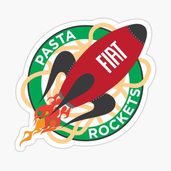 Rockets de pâtes Sticker
