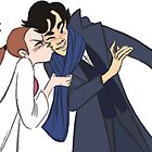 Sherlolly Kiss by EccentricArtist