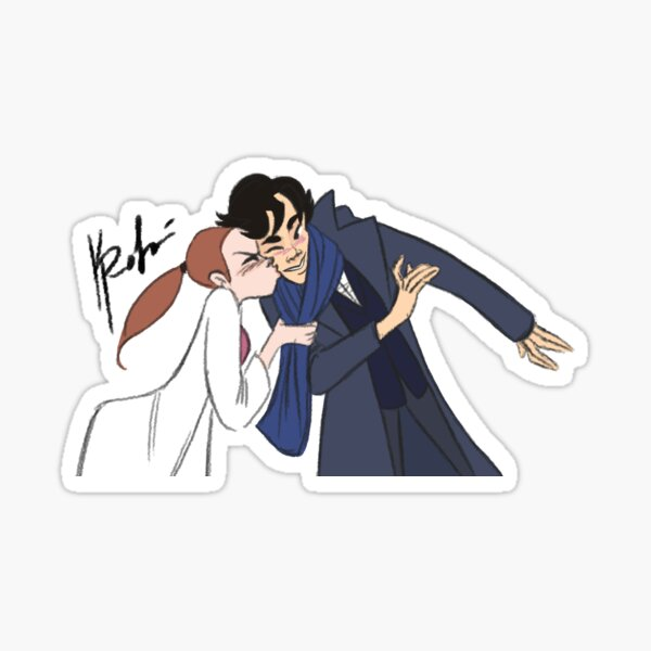 Sherlolly Kiss Sticker