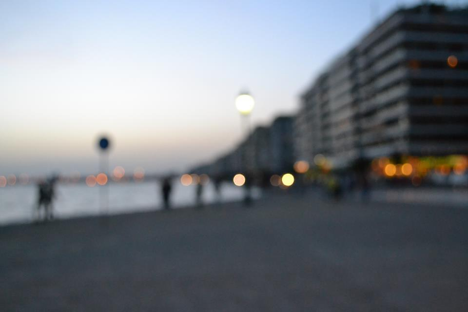 Bokeh old beach of Thessaloniki by AxelAtticus