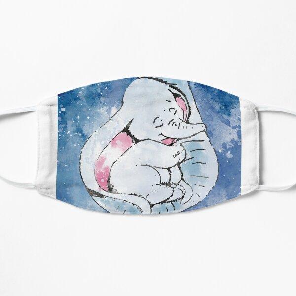 Dumbo und seine Mutter, Mutter und Babyelefant Flache Maske