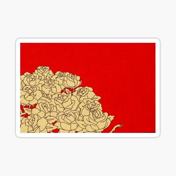 13 Roses Sticker