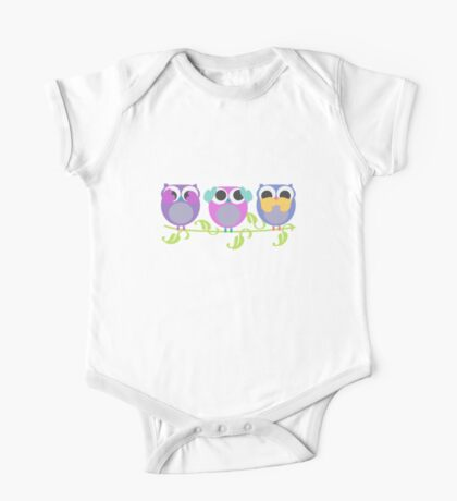 three wise owls Kids Clothes