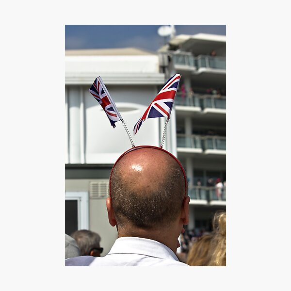 Union Flag Bonce Bouncers Photographic Print