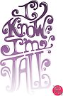 Tall N Curly - I know I'm tall / Orchid by tallncurly