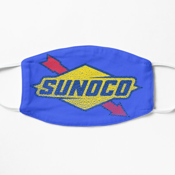 Sunoco Oil Logo washed in soap bubbles Mask