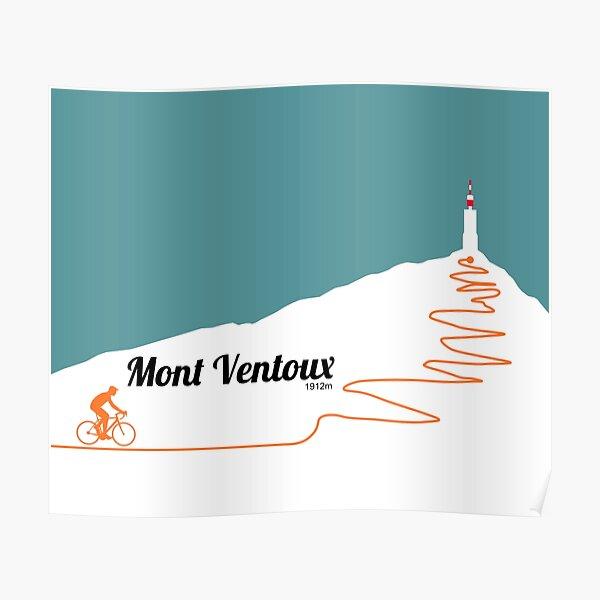 Oeuvre de cyclisme du Mont Ventoux Poster
