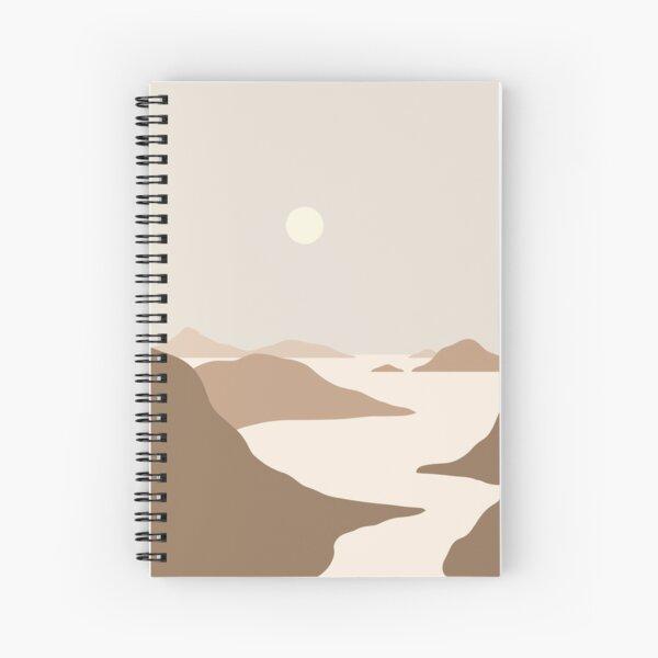 Landscape Neutral tones Spiral Notebook