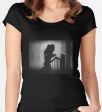 Nosferatu Women's Fitted Scoop T-Shirt