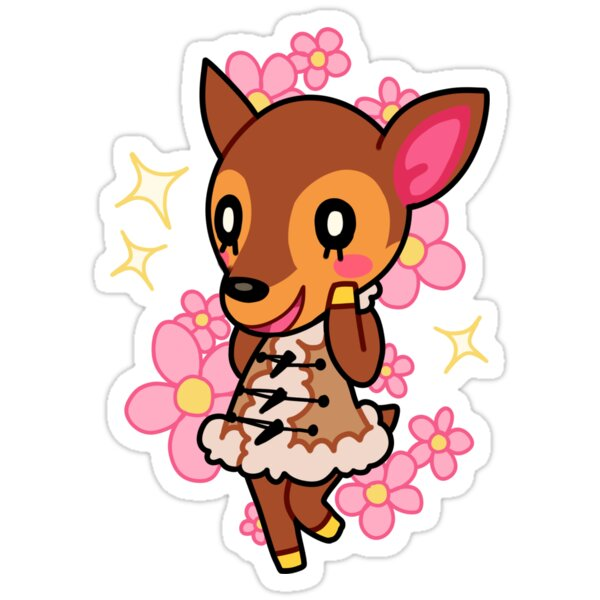 Quot Fauna Of Animal Crossing New Leaf Quot Stickers By 2ll2l