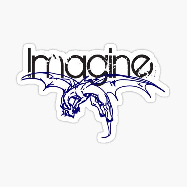IMAGINE STICKER Sticker