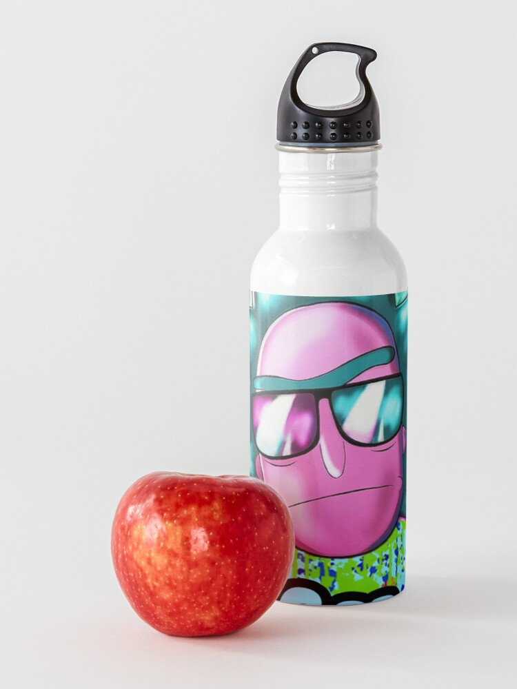 Alternate view of funny get schwifty Water Bottle