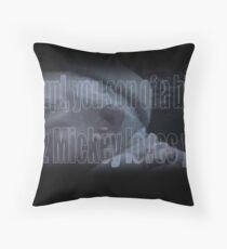 Mickey Loves Ya - Rocky Throw Pillow