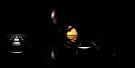 Darkness Borrows Light by Benedikt Amrhein