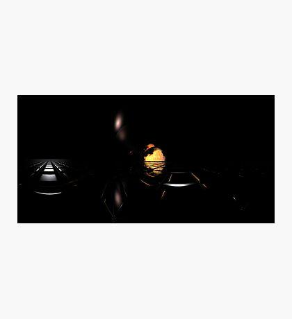 Darkness Borrows Light Photographic Print