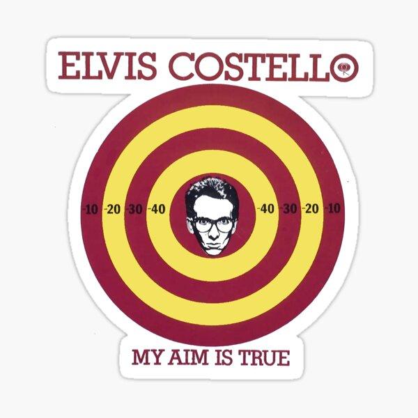 Elvis Costello: My Aim Is True Sticker