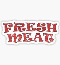 Roller Derby Fresh Meat Sticker