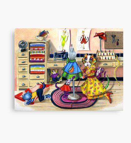 Stitch in Time: Canvas Print