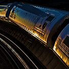 Sunset Train by Carolann23
