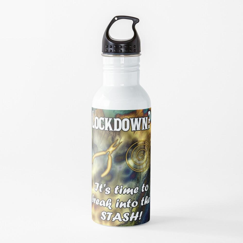 Break Into Your Wire Stash Water Bottle