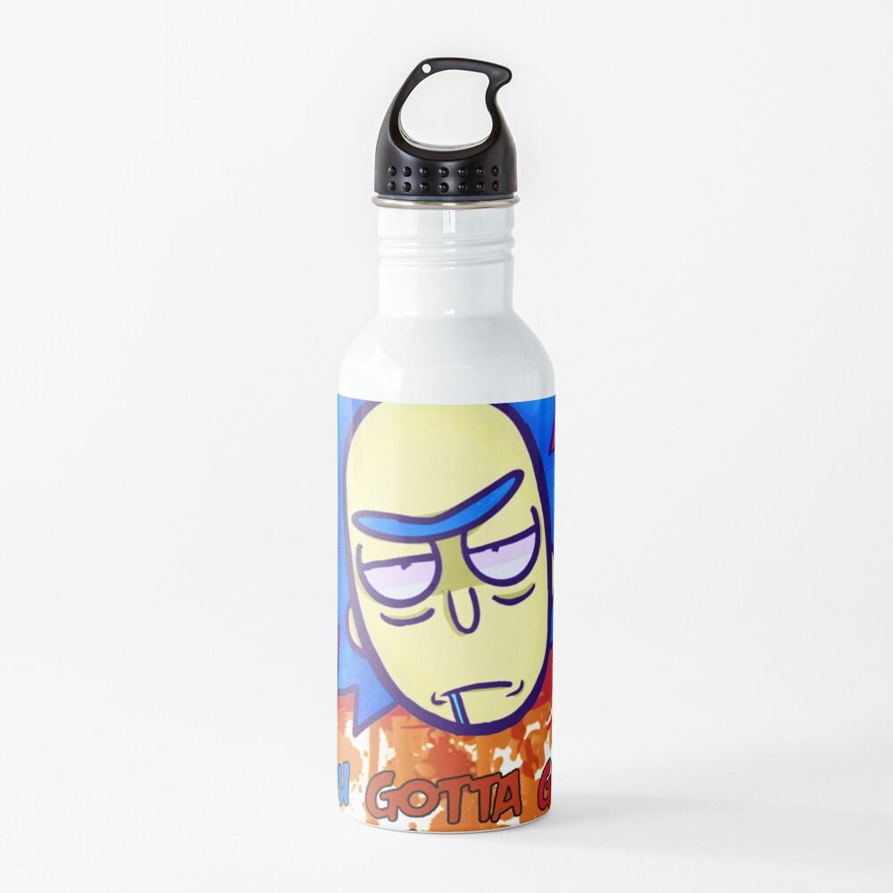 funny get schwifty Water Bottle