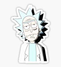 Rick Mugshot Sticker
