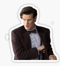 11th Doctor- Doctor Who Sticker