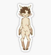 Fawnlock Sticker