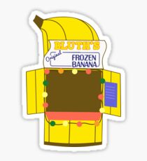 Banana Stand Sticker
