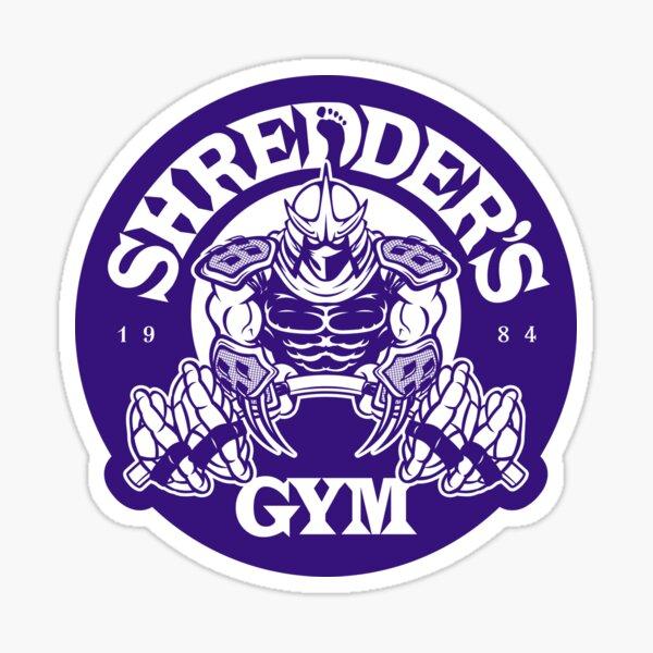 Shredder's Gym (Decal) Sticker